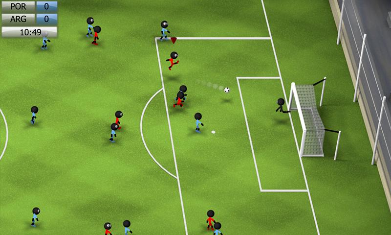 Stickman Soccer 2014 screenshot #2