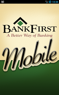 BankFirst Mobile - screenshot thumbnail