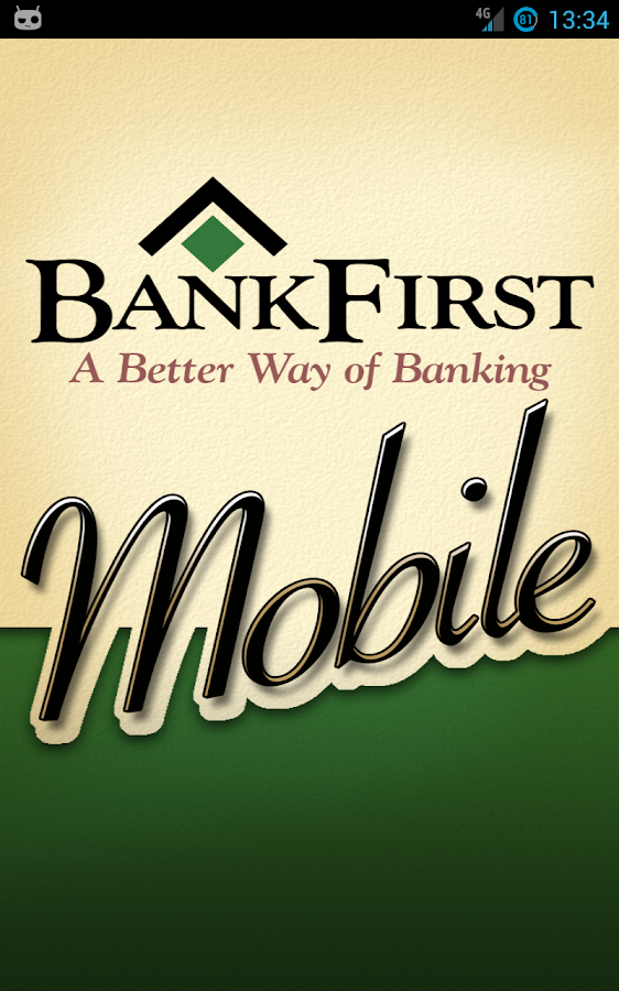 BankFirst Mobile - screenshot
