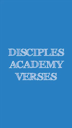 Disciples Academy Verses