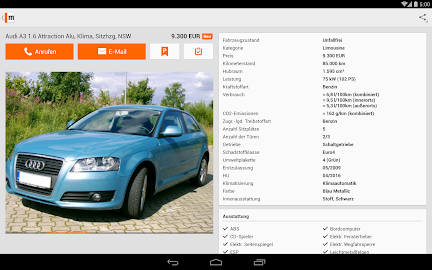 mobile.de – vehicle market Screenshot 28