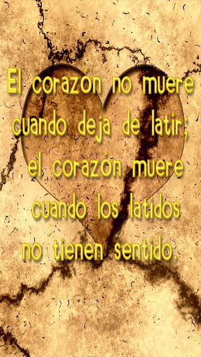 Frases con imagenes tristes