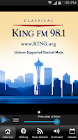 Screenshot of Classical KING FM