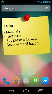 Notes Widget HD PRO - Stickies- screenshot thumbnail