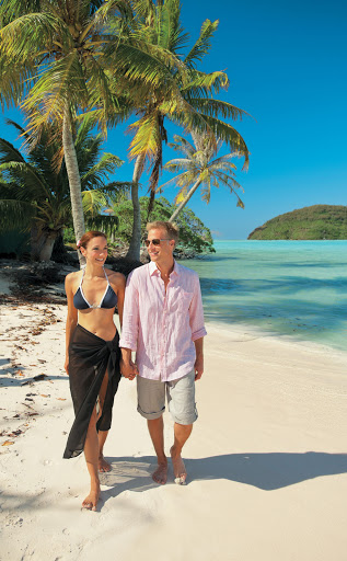 Enjoy the tropical climes and Caribbean vibes of a shore excursion on Paul Gauguin Cruises' Tere Moana.