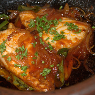 Fish in Spicy Tomato Sauce.