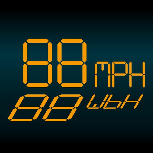 交通运输のシンプルなスピードメーターHUD2 LOGO-記事Game