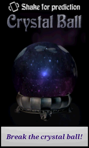 Breakable Crystal Ball