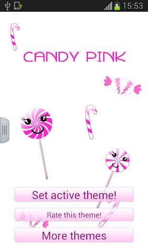 糖果粉色鍵盤