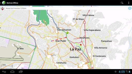 玩免費旅遊APP|下載Offline Map Bolivia app不用錢|硬是要APP