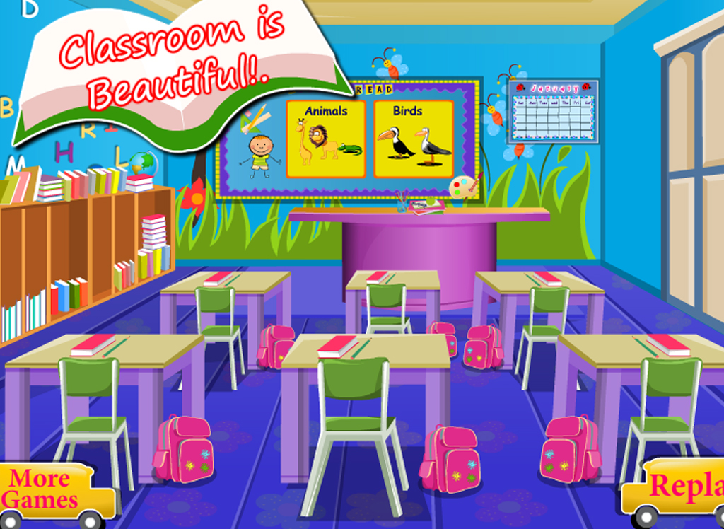 School Classroom Decor Games ~ How to decorate a classroom for kids