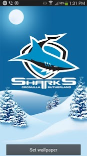 Cronulla Sharks Snow Globe- screenshot thumbnail