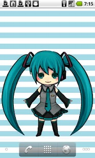 MikuLiveWallpaper - screenshot thumbnail