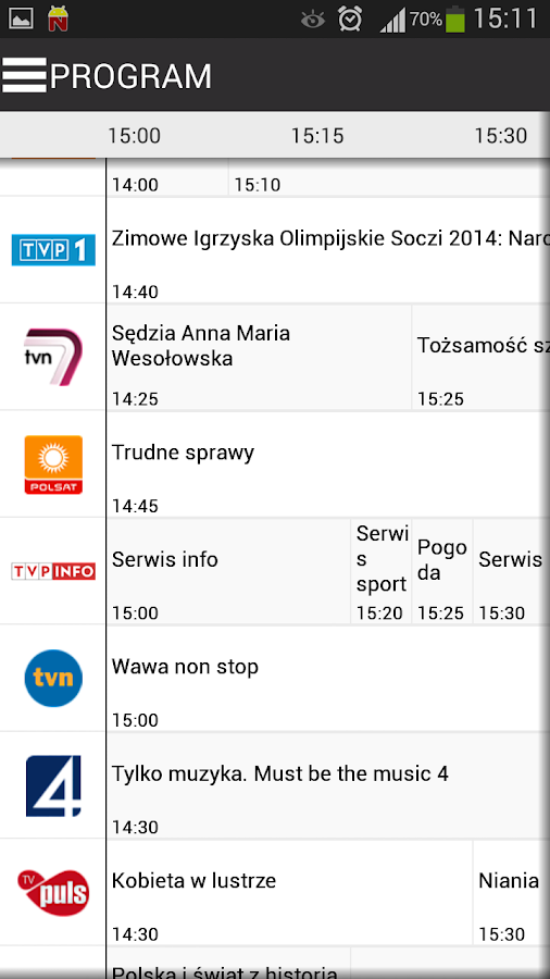 Program TV - twojprogram.tv – zrzut ekranu