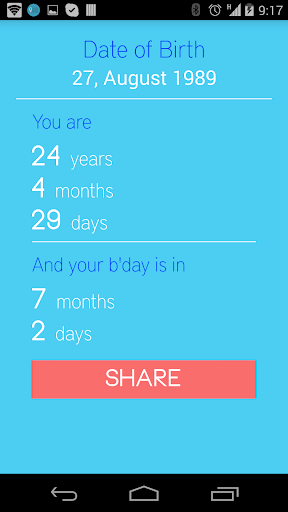 What is my Age