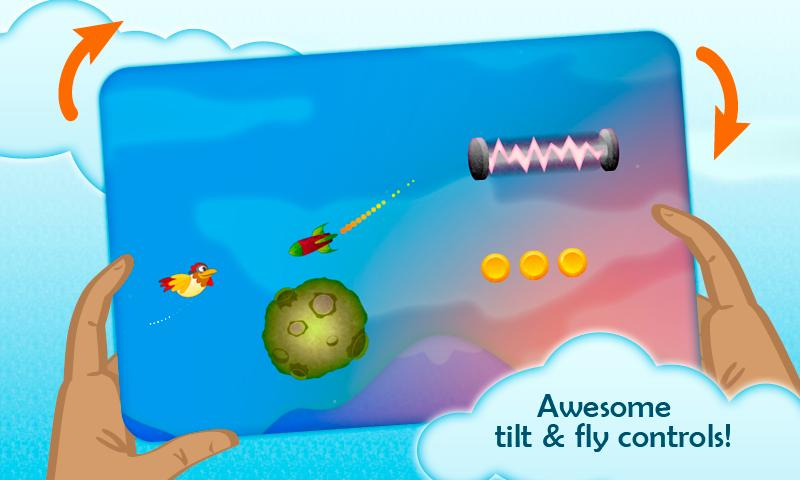 Chicken Dynamo - Tilt and Fly - screenshot