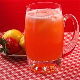 All Natural Strawberry Lemonade.