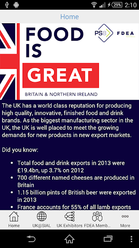 UK Food Drink Exporters