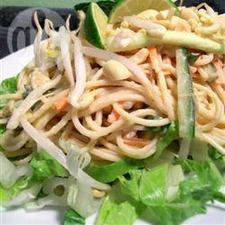 Thaise Udon noedelsalade