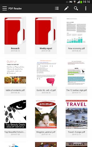 PDF Reader - 掃描 注釋 管理 查閱 分享