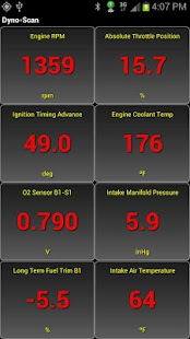 Dyno-Scan (OBD II Scan Tool) - screenshot thumbnail