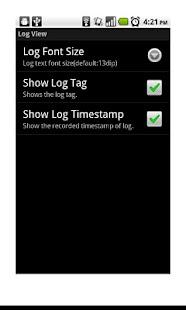 LogViewer Lite (LogCat)- screenshot thumbnail