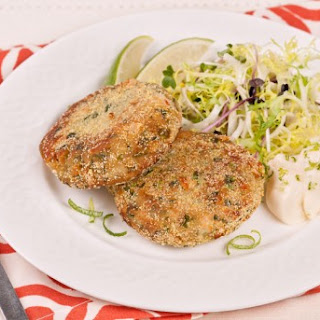 Jalapeno Bean Cakes With Lime Mayo CBC Best Recipes Ever.
