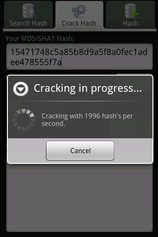 Crack Droid - screenshot