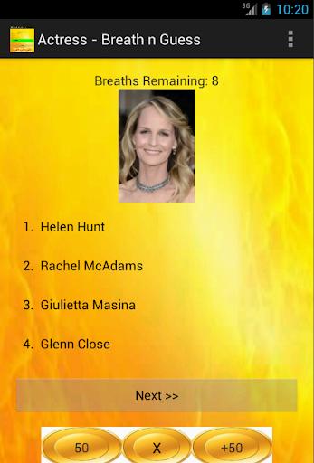 Actress - Breath n Guess