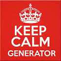 Keep Calm Generator icon