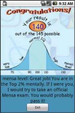 IQ Test Donate- screenshot