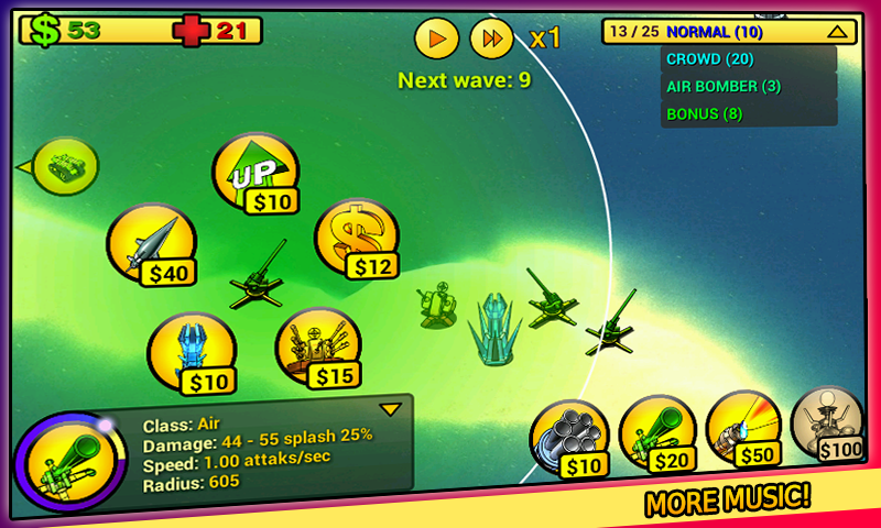 tower defense Line- screenshot