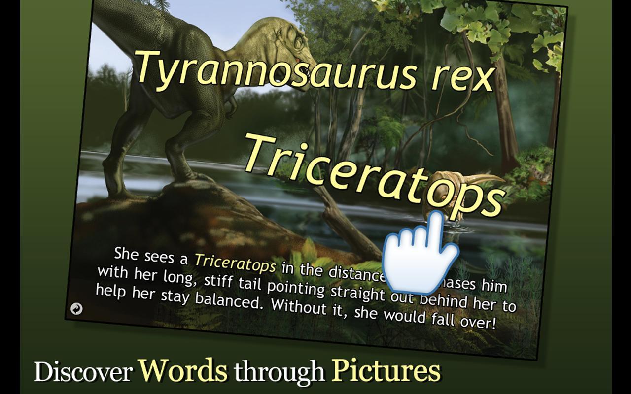 It's Tyrannosaurus Rex!- screenshot