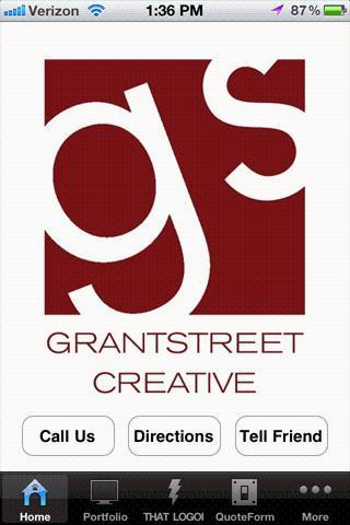 Grantstreet Creative - screenshot