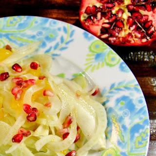 Fennel, Orange & Pomegranate Salad