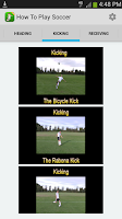 Screenshot of Soccer Training Coach Pro