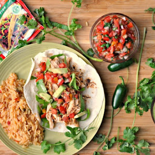 Crock Pot Chicken Tacos {gluten-free}