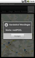 Screenshot of mediPOOL Checker