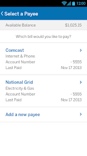 Amex Serve- screenshot thumbnail