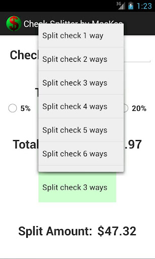 玩財經App|Check Splitter Free免費|APP試玩