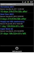 Screenshot of Event Countdown Pro