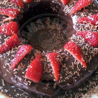 Mama's Fluffy Chocolate Cake