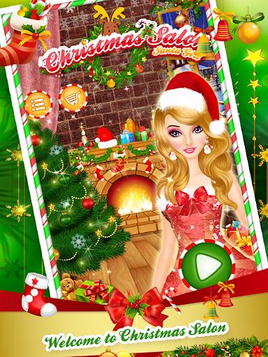 圣诞沙龙女孩