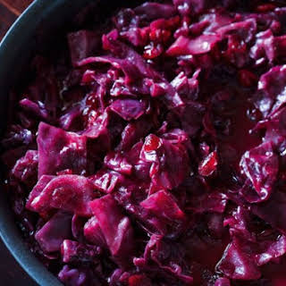 From A Polish Country House Kitchen's Red Cabbage with Cranberries.