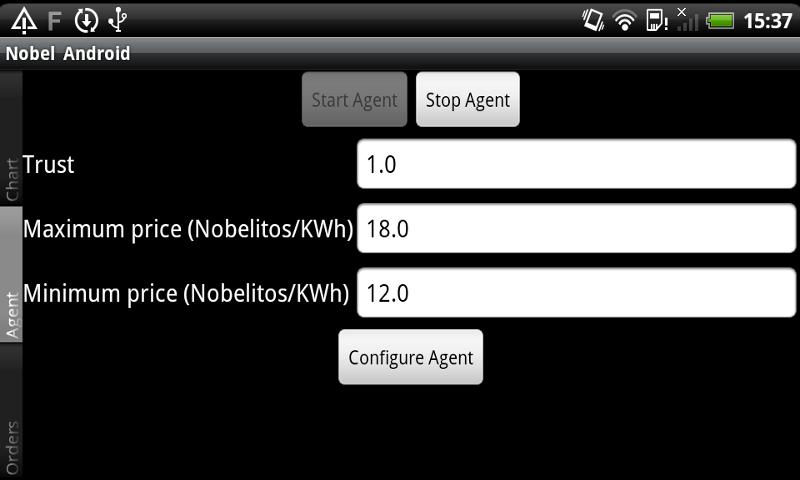 NOBEL BAF - screenshot