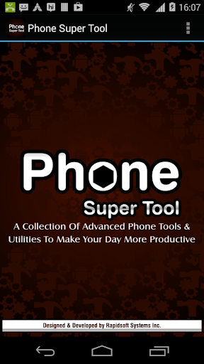 Phone Super Tools for Android