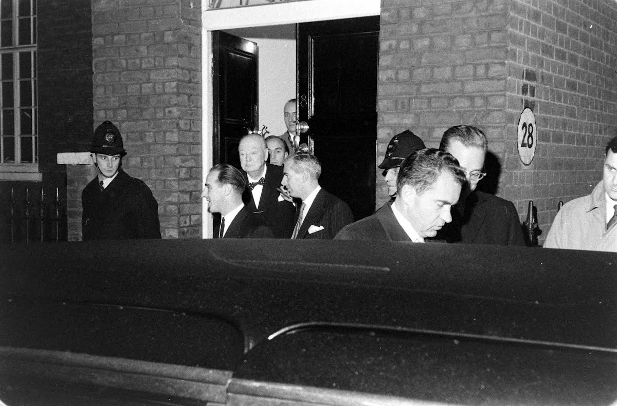 Visit Of Vice-President Nixon To Britian