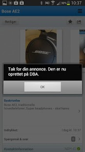 DBA – buy and sell used goods - screenshot thumbnail