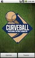 Screenshot of Curveball