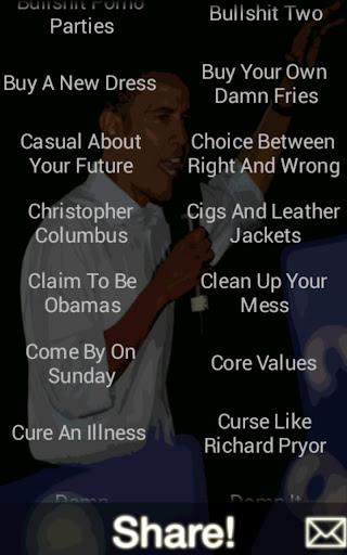 Obama Comedy Board Pro